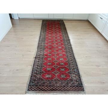 Ręcznie tkany Pakistanski chodnik Bokhara 90x310cm