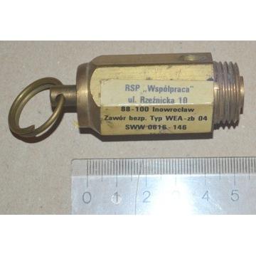 zawór bezpieczeństwa - kompresor zb 04 - 0,75MPa