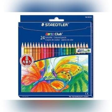 Kredki Ołówkowe STAEDTLER 24 kolorów 144 NC24