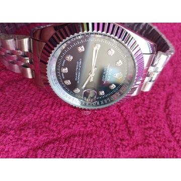 Zegarek Rolexx [Srebrno-Czarny]