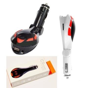 Transmiter Samochodowy USB 12V 24V MP3 SD PILOT