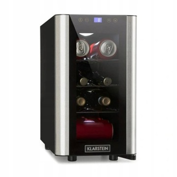 Chłodziarka na wino napoje 24l LED klarstein