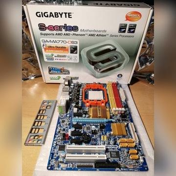 Gigabyte GA-MA770-DS3 rev.2.0 s. AM2+ - uszkodzona