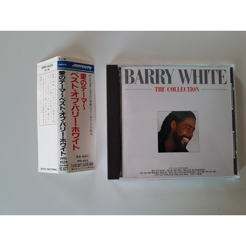 BArry White -The Collection  wyd japan