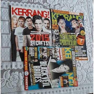 Kerrang z Black Veil Brides Andy Black Biersack