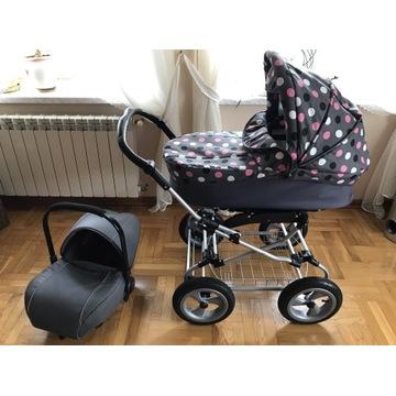 Wózek gondola+fotelik nosidełko