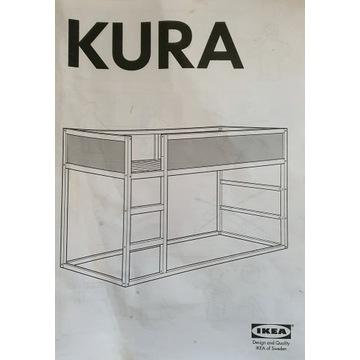 Łóżko  KURA IKEA częściowa zmontowane
