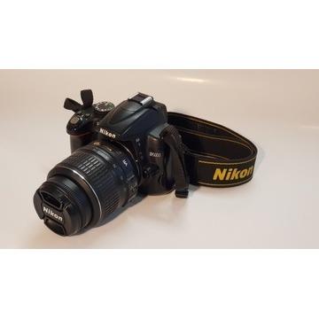 Nikon D5000 + ob.18-55 3.5-5.6G VR ze stabilizacją