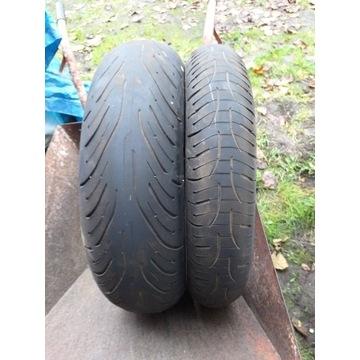 Używane opony Michelin Pilot ROAD4, 180 i 120
