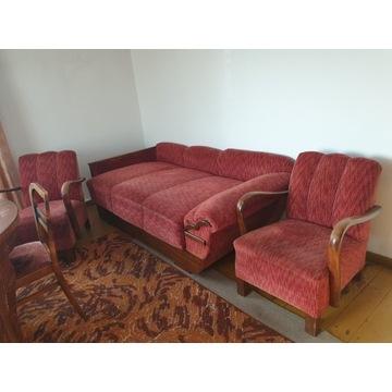 Kanapa z 2 fotelami