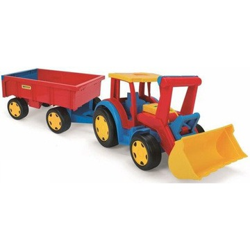Wader 66300 Traktor Gigant z przyczepą nr.716