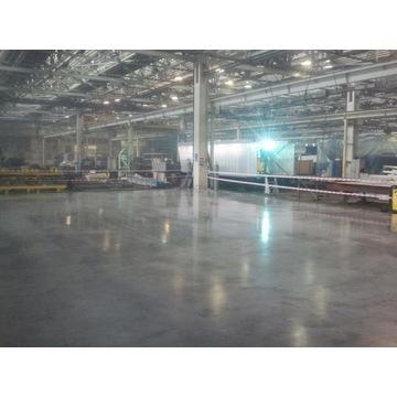 Posadzki Przemysłowe, wylewka w garażu, betonowa