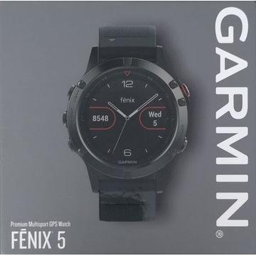 Garmin fenix 5 Slate Gray nowy 2 lata gwarancji