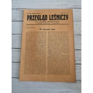 Przegląd Leśniczy 1945 r. Listopad