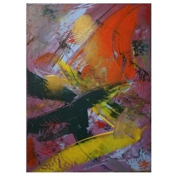 Obraz ręcznie malowany akryl