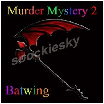 ROBLOX Murder Mystery 2 Batwing