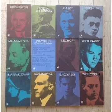 Biblioteka poetów - 12 książek
