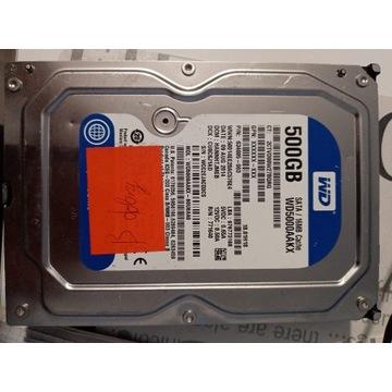 Dysk twardy WD 500 GB GB HDD SATA III 3.5