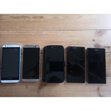 Telefony uszkodzone HTC ONE, Xperia z5 i inne