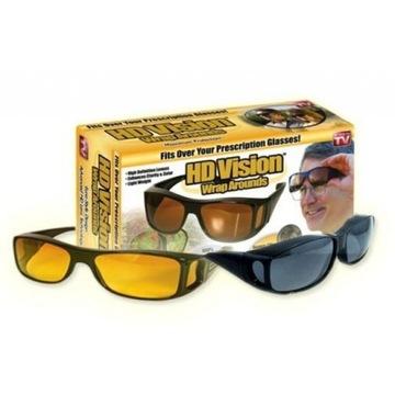 Okulary HD Vision dla kierowców 2w1