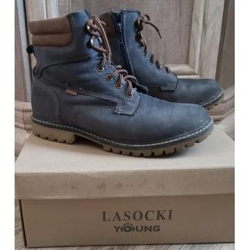 Buty zimowe chłopięce, r. 36, dłg. wkładki 23,5 cm