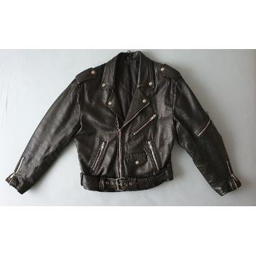 Ramoneska kurtka skórzana motocyklowa