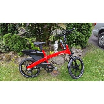 Rower elektryczny e-bike Winora Town EXP 70km