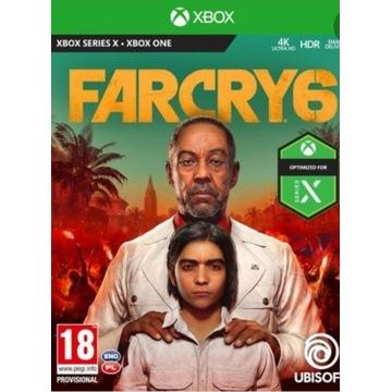 Far cry 6 xbox series s x dostęp do konta