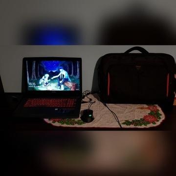 Laptop dla graczy MSI GV72 7RD + Torba i myszka