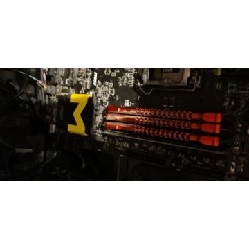 24 Gb RAM DDR3 1600 MHz w 4 kościach,stan idealny