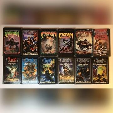 Conan niepełna seria książek Robert E. Howard