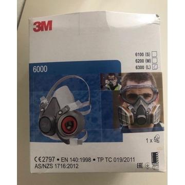 Maska 3M 6000 filtry