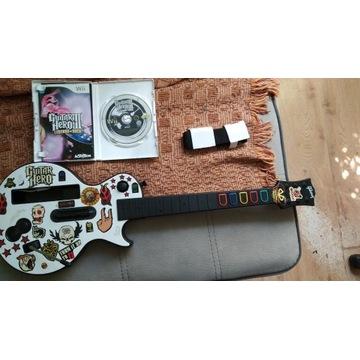 Gitara GUITAR HERO Wii