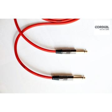 Złączka do efektów 30cm Cordial CIK122 Jack prosty