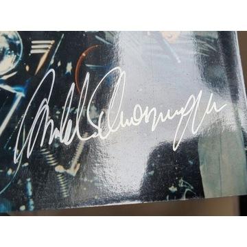 Arnold Alois Schwarzenegger - oryginalny autograf!