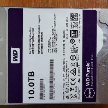 Dysk WD Purple 10TB