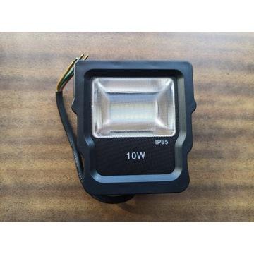 Naświetlacz oprawa zewnętrzna 10W IP65 płaski