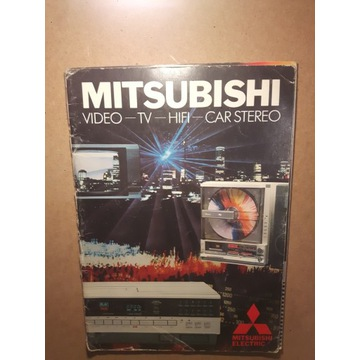 OKAZJA prospekt MITSUBISHI  HIFI 1984 rok ! ! !