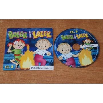 Bolek i Lolek - część 8 VCD 5 bajek na płycie