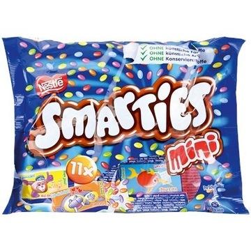 Małe Smarties Nestlé 11 sztuk