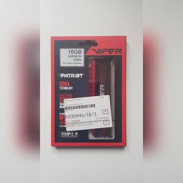 Pamięć Patriot Vaiper 4 DDR4 3200Mhz 2x8GB CL 16