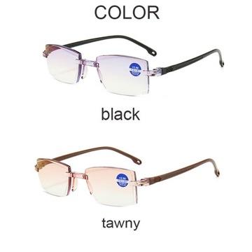 Okulary zerówki z filtrem światła niebieskiego
