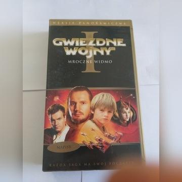GWIEZDNE WOJNY: Część I - Mroczne widmo (VHS)