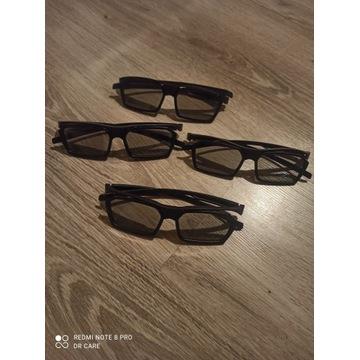 Okulary 3D - 4 szt