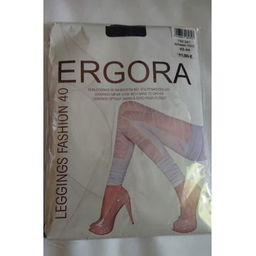Ergora legginsy czarne roz 42/44