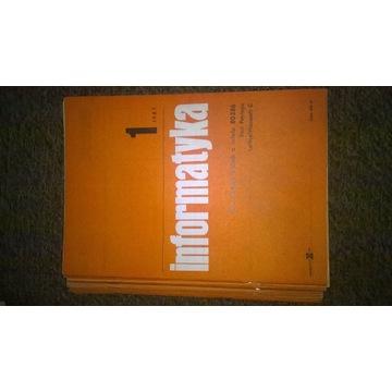 Rocznik czasopisma Informatyka z 1987