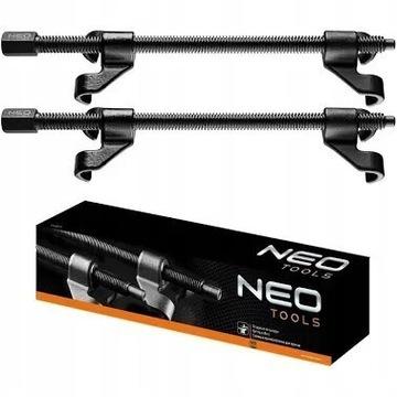Sciągacze do sprężyn KUTE 300 mm 2 szt 11-807 NEO