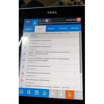 Tester diagnostyczny TEXA Navigator txts