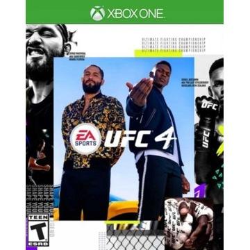 UFC 4 Edycja standardowa I XBOX I ONE I VIP I