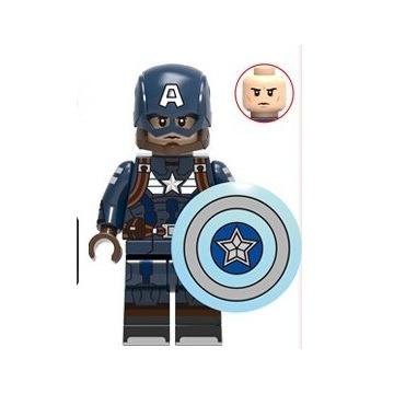 Lego Kapitan Ameryka  Figurka Marvel